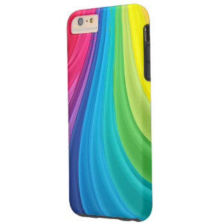 Abstract Colorful Modern Tough iPhone 6 Plus Case