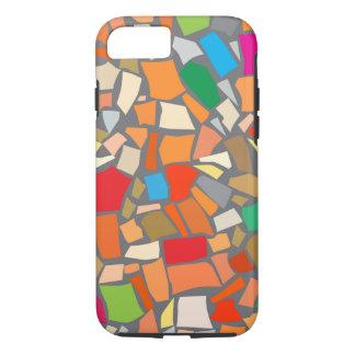 Abstract colorful mosaic iPhone 8/7 case