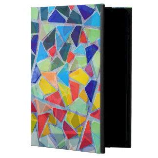 Abstract Colorful Mosaic Random Pattern Powis iPad Air 2 Case