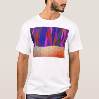 Abstract Colorful Pastel look Design T-Shirt