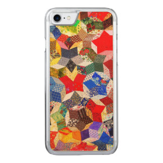 Abstract Colorful Pattern Carved iPhone 8/7 Case