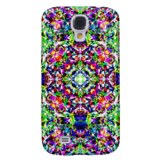 Abstract Colorful Pattern Galaxy S4 Cover