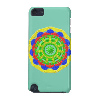 Abstract colorful pattern iPod touch (5th generation) cover