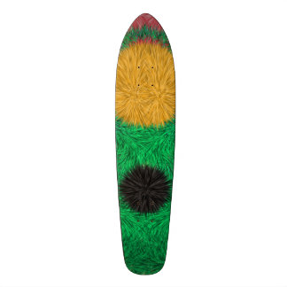 Abstract colorful pattern skate decks