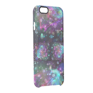 Abstract Colorful Personalized Uncommon Clearly™ Deflector iPhone 6 Case