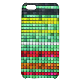 Abstract  Colorful quilt fabric iPhone 5C Cover