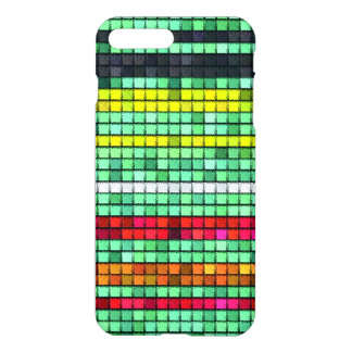 Abstract Colorful quilt fabric iPhone 8 Plus/7 Plus Case