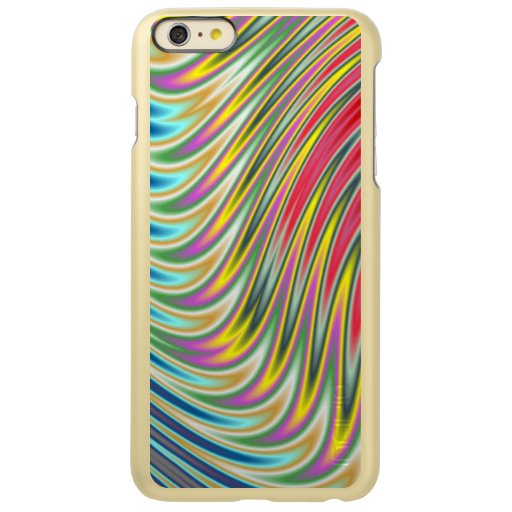 Abstract colorful rays pattern incipio feather shine iPhone 6 plus case