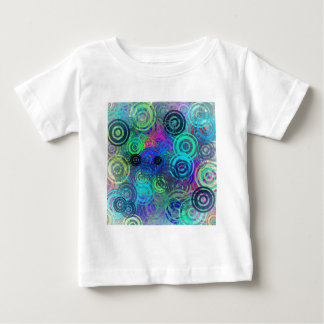 Abstract Colorful Rings Baby T-Shirt