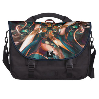 Abstract Colorful Shapes Commuter Bags