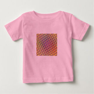 Abstract Colorful Squares Baby T-Shirt