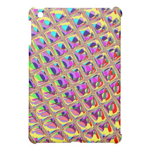 Abstract Colorful Squares iPad Mini Cases
