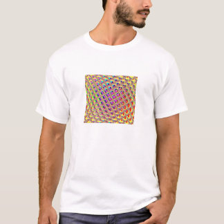 Abstract Colorful Squares T-Shirt