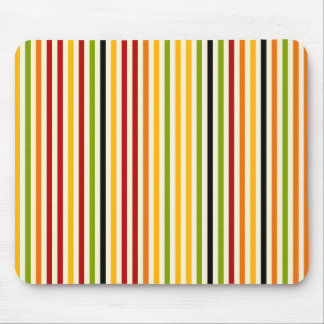 Abstract Colorful Stripes Mousepad