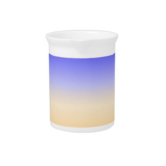 abstract colorful sun rise inspired artwork pitcher