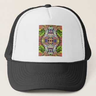 Abstract Colorful Symmetrical Trucker Hat