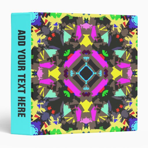 Abstract Colorful Symmetry Binders