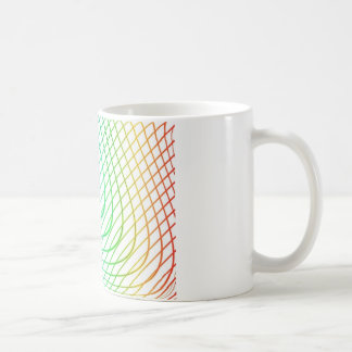 Abstract Colorful Timeless Lines Pattern Coffee Mug