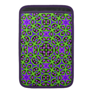 Abstract colorful trendy pattern MacBook sleeve