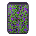 Abstract colorful trendy pattern sleeves for MacBook air