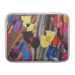 Abstract Colorful Tulips MacBook Air Sleeve
