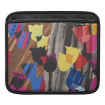 Abstract Colorful Tulips Sleeves For iPads