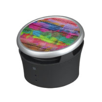 Abstract Colorful Watercolor Pattern Speaker