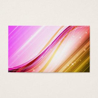 Abstract Colorful Waves Vector DIGITAL SWIRLS SPAC Business Card