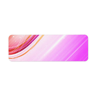 Abstract Colorful Waves Vector DIGITAL SWIRLS SPAC Label