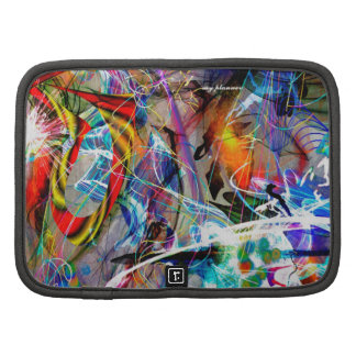 abstract colorlike folio planners