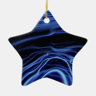 Abstract Colors Acceptance Ceramic Ornament