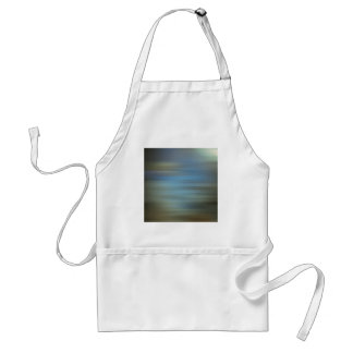 Abstract Colors Airport Taxi Adult Apron