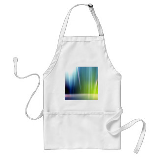 Abstract Colors Aurora Celeb Adult Apron