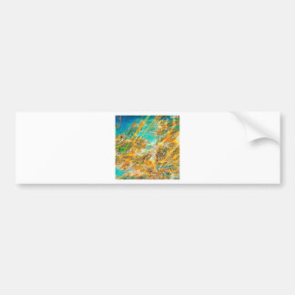 Abstract Colors Autumn Skies Bumper Sticker