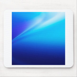 Abstract Colors Blu Bend Mousepads