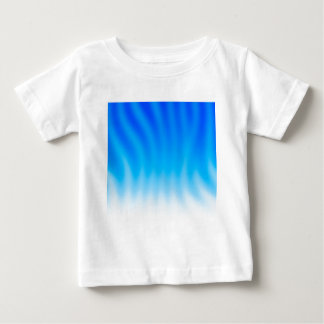 Abstract Colors Blue Heat Baby T-Shirt