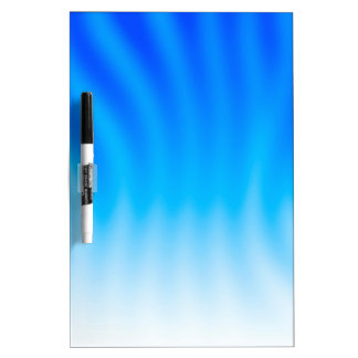 Abstract Colors Blue Heat Dry-Erase Boards