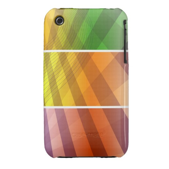 Abstract Colors Case-Mate iPhone 3 Case