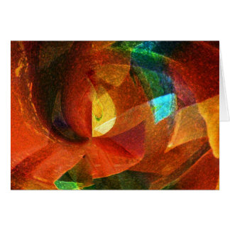 Abstract Colors Customizable Products Card