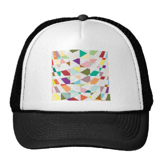 Abstract Colors Damask Trucker Hat