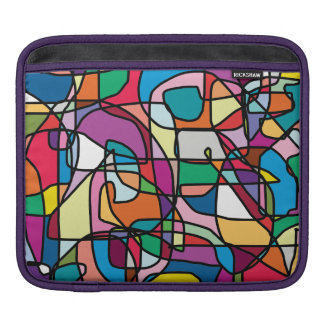 Abstract Colors Doodle iPad Case