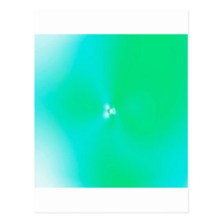 Abstract Colors Favour Postcard