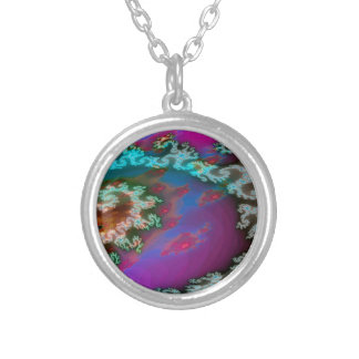 Abstract Colors Galactic Arms Necklace