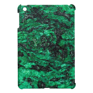 Abstract Colors Green Marble iPad Mini Case