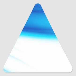 Abstract Colors Hero Bleeds Triangle Sticker