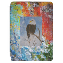 Abstract Colors iPad Air Cover at Zazzle