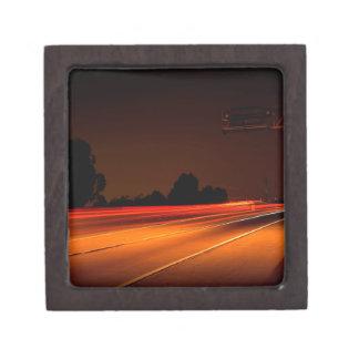 Abstract Colors Mandolux Cruising Premium Trinket Boxes
