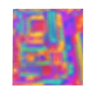 Abstract Colors: Notepad