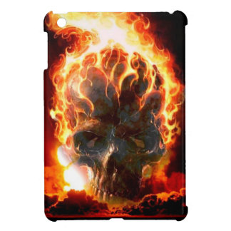 Abstract Colors Skull From Hell iPad Mini Case