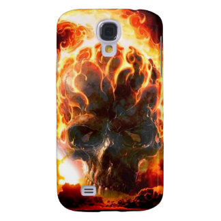 Abstract Colors Skull From Hell Samsung S4 Case